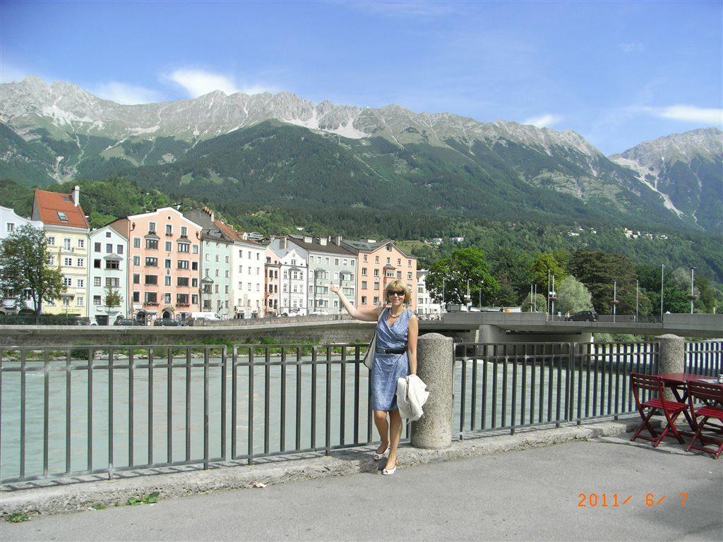 река Инн в Инсбруке
